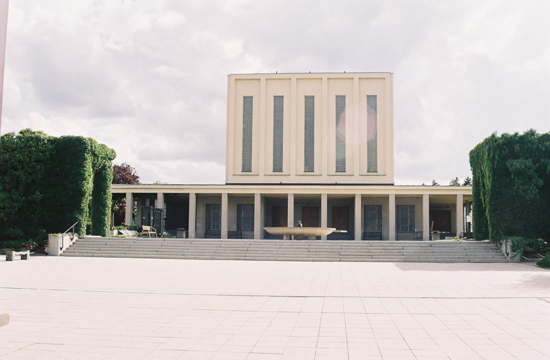 Pohřební služba Atropos s.r.o. Praha Obřadní síň Krematorium Strašnice