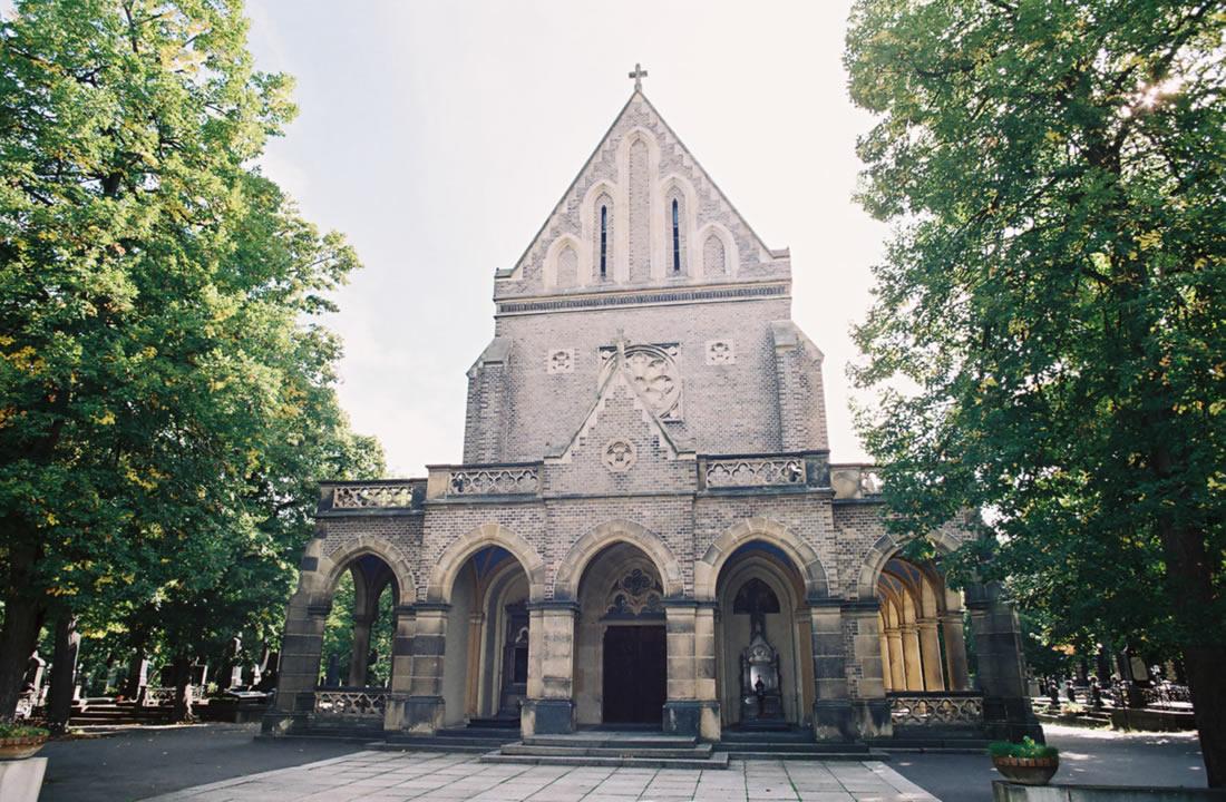 Pohřební služba Atropos s.r.o. Praha Obřadní síň Kaple svatého Václava