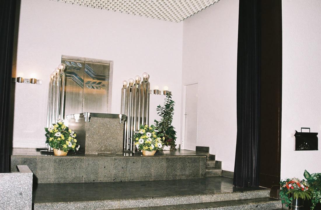 Pohřební služba Atropos s.r.o. Praha Obřadní síň Obřadní síň motol